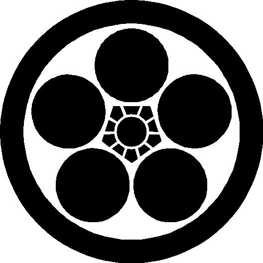 家紋丸に梅鉢