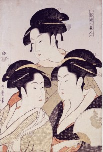 喜多川歌麿‐寛政三美人